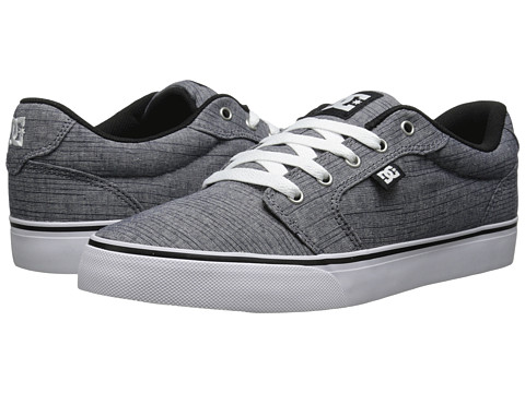 DC - Anvil TX SE (Dark Grey) Men's Shoes