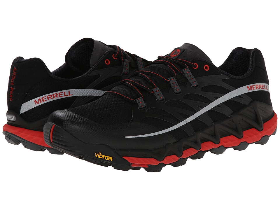 Merrell - All Out Peak (Black/Molten Lava) Men's Shoes