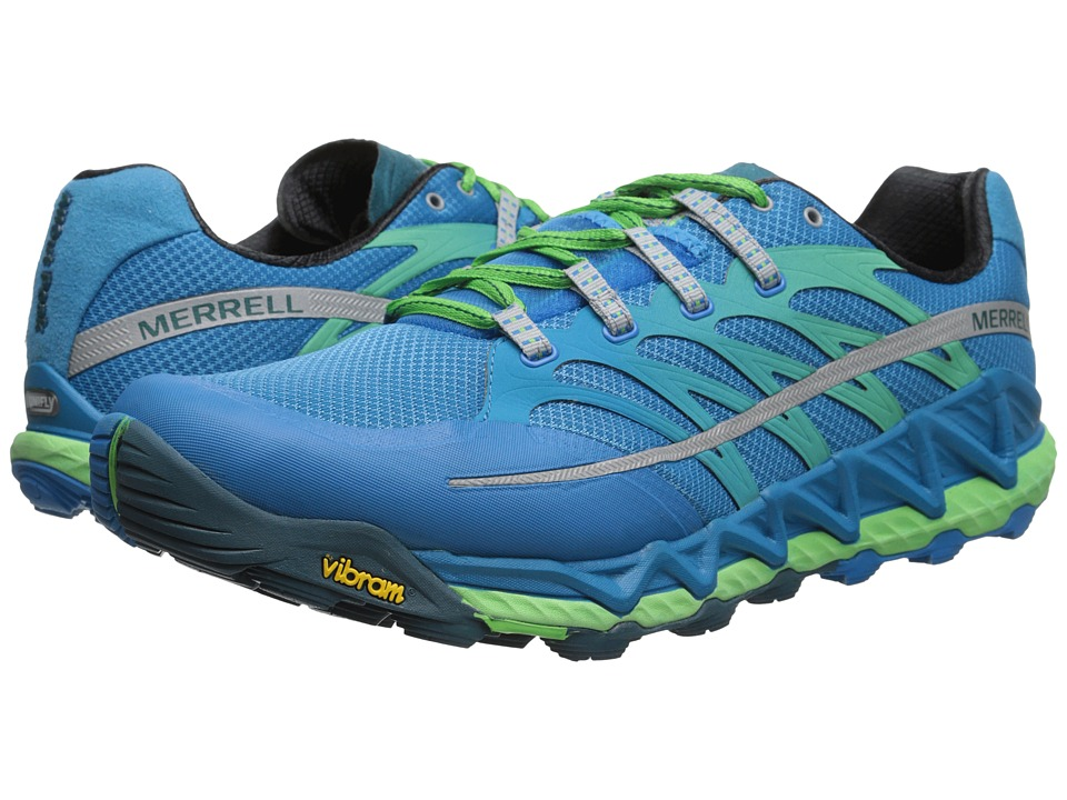 Merrell - All Out Peak (Racer Blue/Bright Green) Men