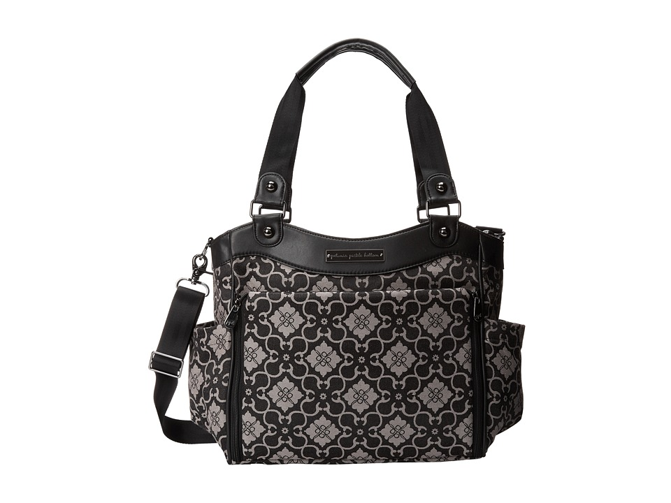 petunia pickle bottom - Jacquard City Carryall (London Mist) Diaper Bags