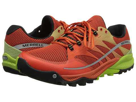 Merrell - All Out Charge (Spicy Orange/Lime Green) Men