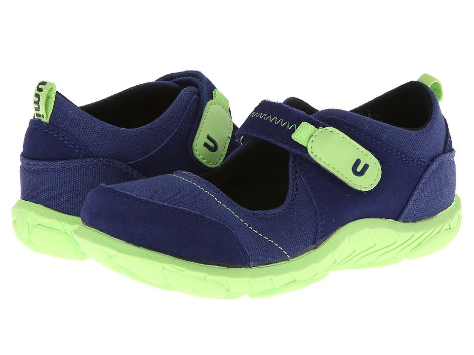 Umi Kids - Hera II (Little Kid) (Navy) Girls Shoes