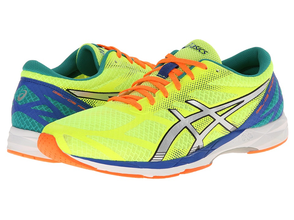 ASICS - GEL-DS Racer 10 (Flash Yellow/Lightning Blue) Men's Running Shoes