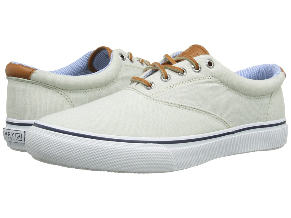 Sperry Top-Sider - Striper CVO Chambray (Green) Men's Lace up casual Shoes