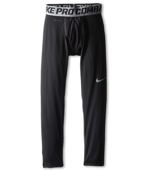 Nike Kids - Pro Combat Compression Tight (Little Kids/Big Kids) (Black/Cool Grey) Boy