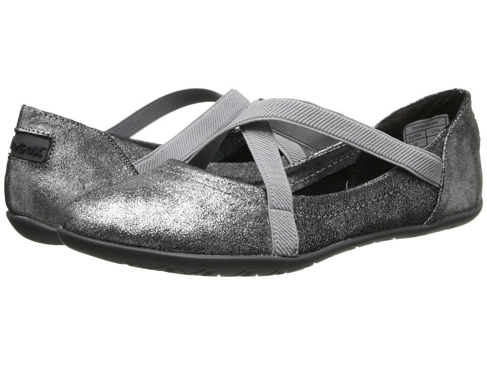 NoSoX - Prima (Silver Metallic) Women's Slip on Shoes