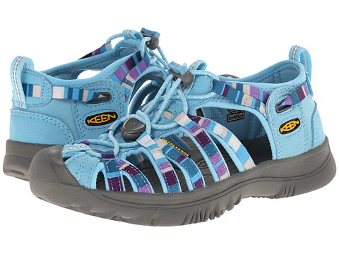 Keen Kids - Whisper (Little Kid/Big Kid) (Raya Blue Grotto) Girls Shoes