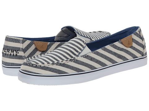 Sperry Top-Sider - Zuma Breton Stripe (Navy) Women's Slip on Shoes