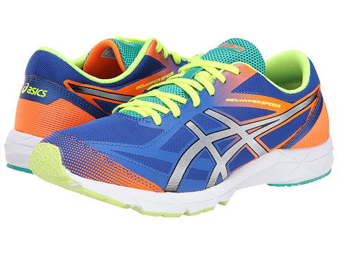 ASICS - Gel-Hyper Speed 6 (Blue/Silver/Flash Orange) Men