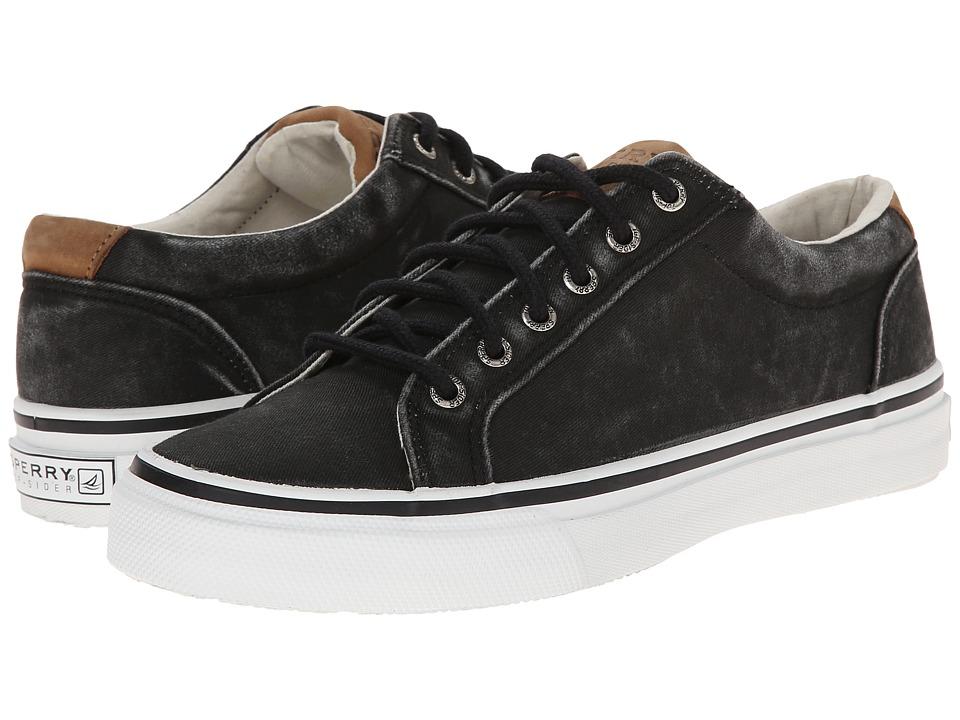 Sperry - Striper LTT (Black) Men's Lace up casual Shoes