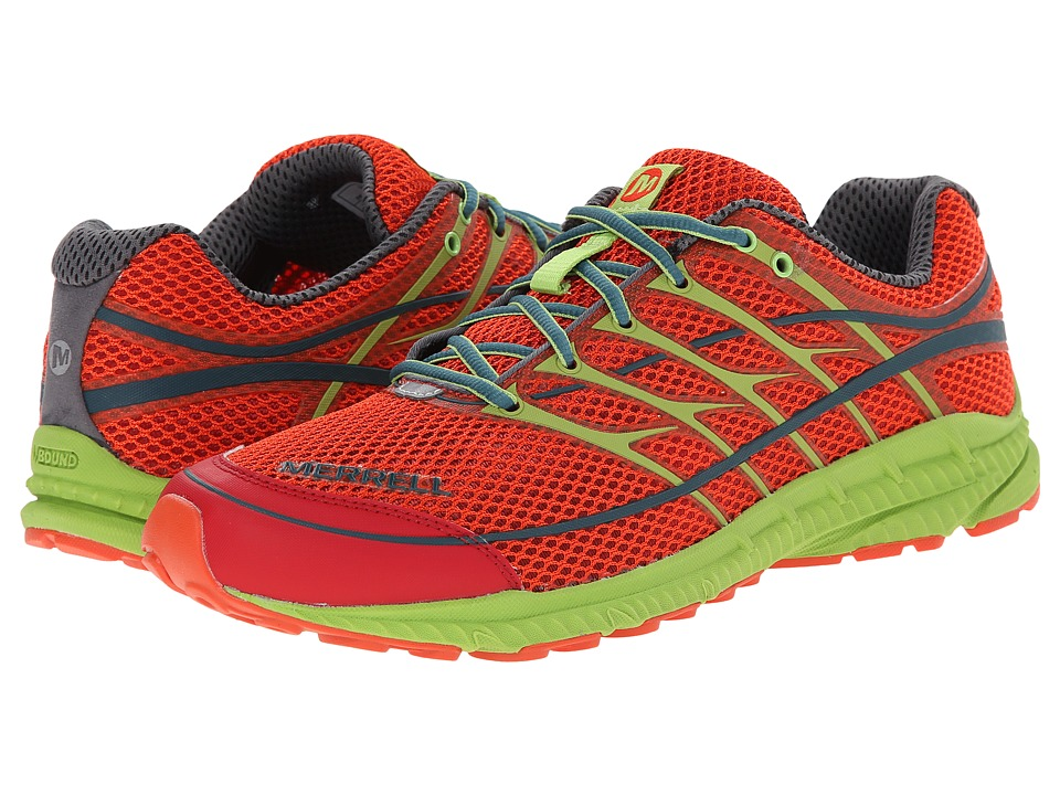 Merrell - Mix Master Move 2 (Haute Red/Lime Green) Men's Shoes