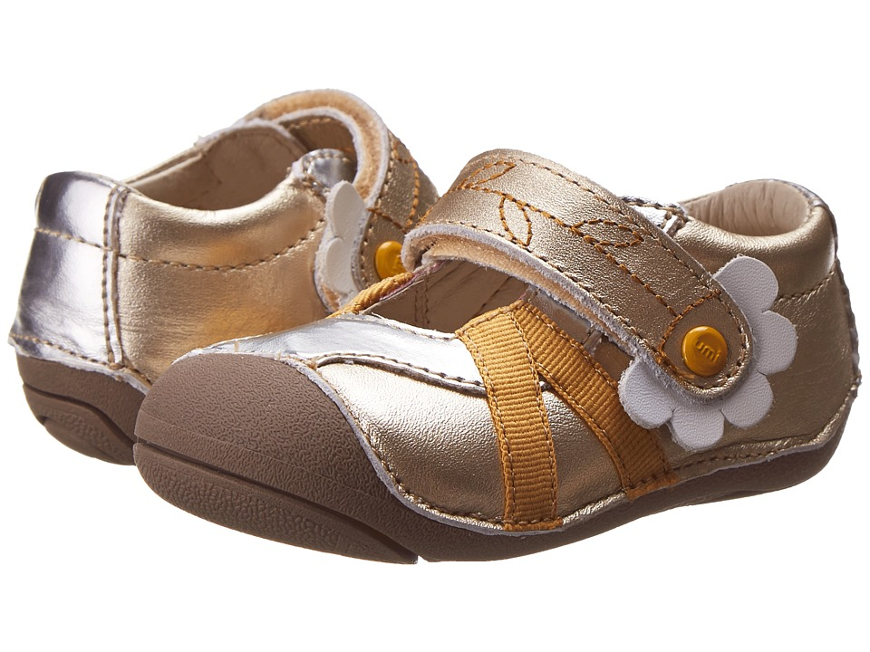 Umi Kids - Cassia (Toddler) (Gold Multi) Girl's Shoes