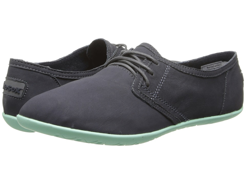 NoSoX - Barre (Charcoal/Mint Nubuck) Women's Lace up casual Shoes