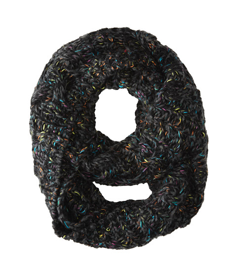 Michael Stars - Cabled Confetti Eternity Scarf (Black) Scarves