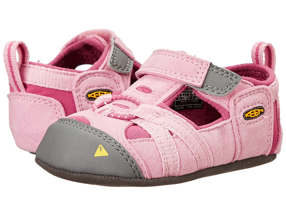 Keen Kids - Seacamp Crib (Infant) (Lilac Chiffon/Dahlia Mauve) Girl's Shoes