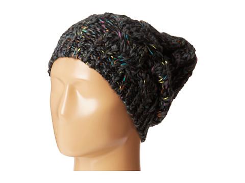 Michael Stars - Cabled Confetti Hat (Black) Knit Hats