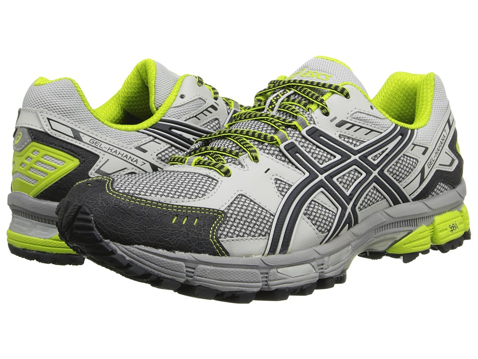 ASICS - Gel-Kahana 7 (Vapor/Onyx/Lime) Men's Running Shoes