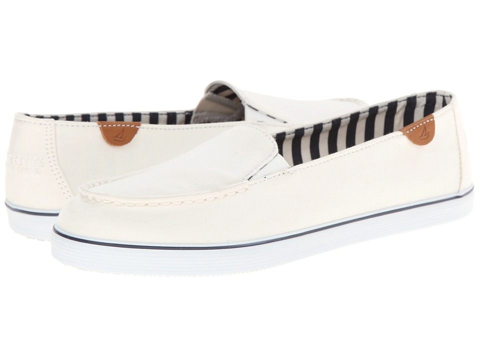 Sperry - Zuma (White) Women's Slip on Shoes