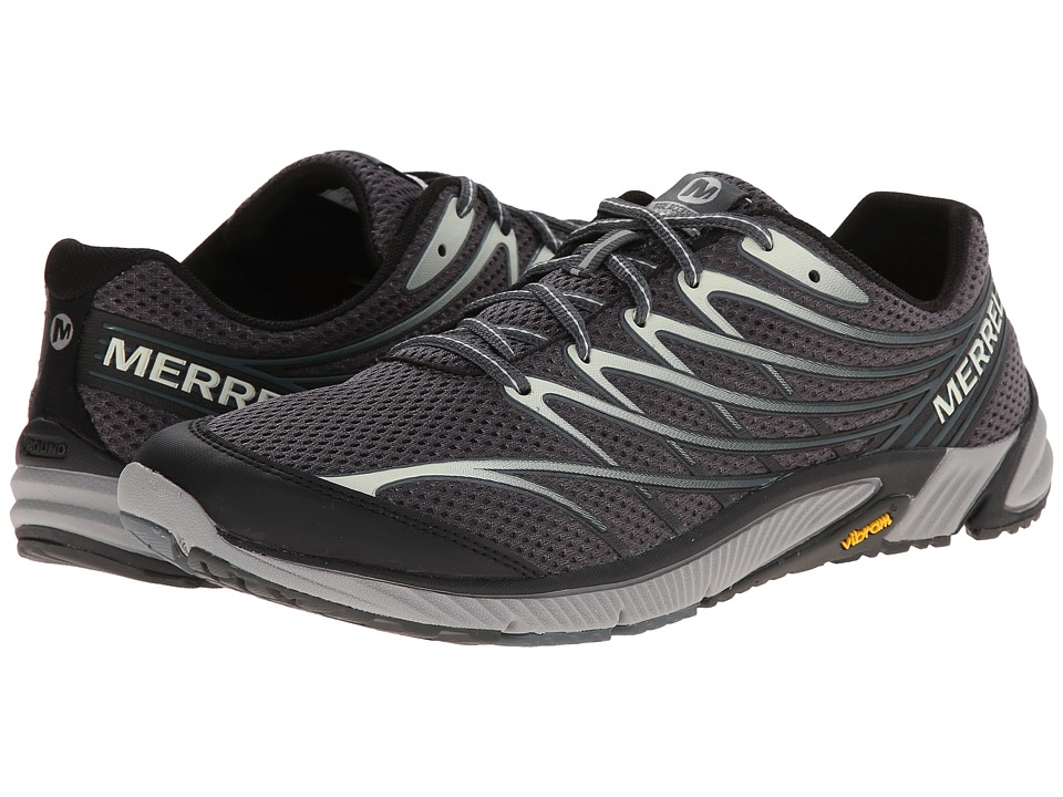 Merrell - Bare Access 4 (Black/Dark Grey) Men's Shoes