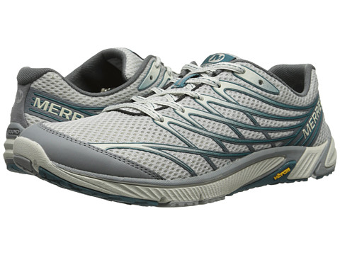 Merrell - Bare Access 4 (Light Grey/Sea Blue) Men's Shoes