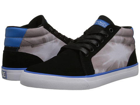 DC - Council Mid DMG (Black/Blue) Men's Skate Shoes
