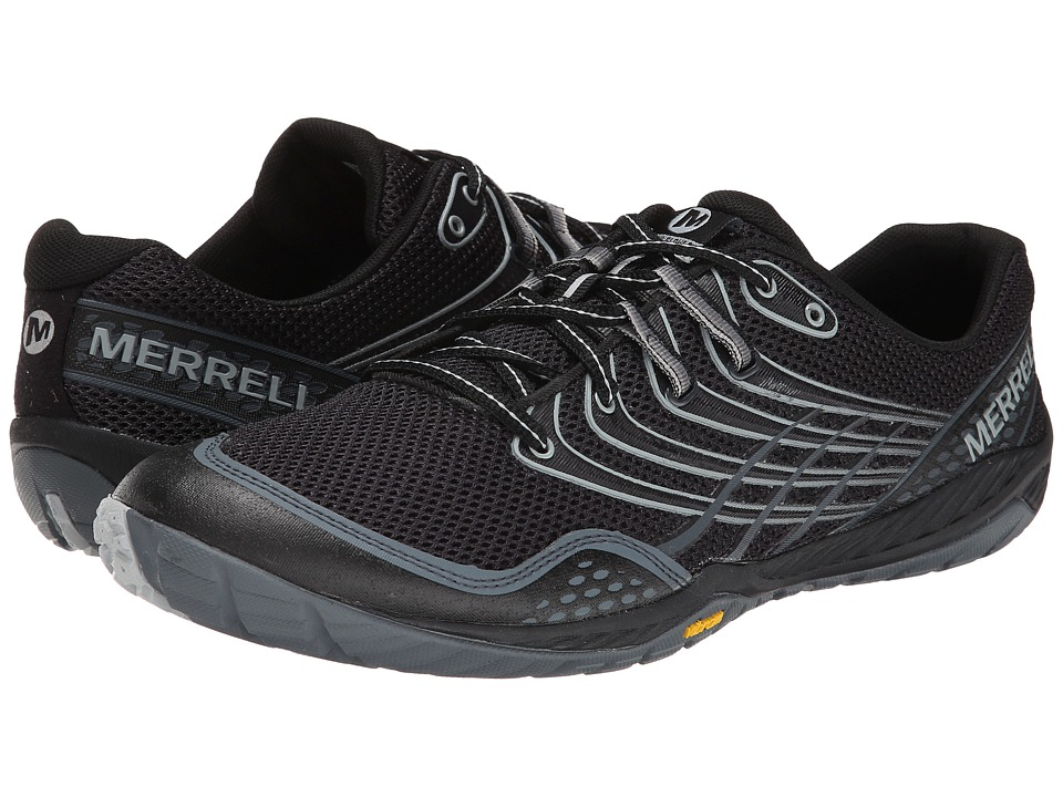 Merrell - Trail Glove 3 (Black/Light Grey) Men's Shoes