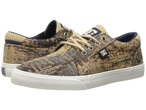 DC - Council TX SE (Dark Denim/Turtle Dove) Men's Skate Shoes