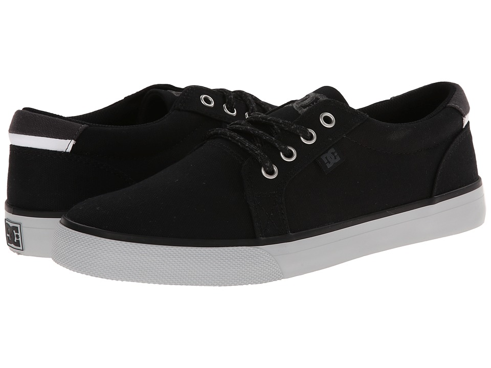 DC - Council TX (Black/White) Men's Skate Shoes