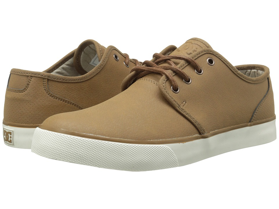 DC - Studio LE (Tan) Men's Skate Shoes