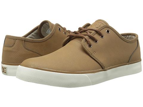 DC - Studio LE (Tan) Men's Skate Shoes