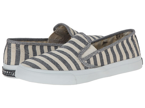 Sperry Top-Sider - Seaside Breton Stripe (Navy) Women
