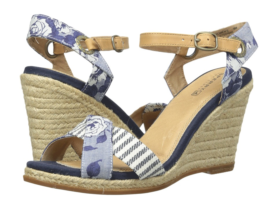 Sperry Top-Sider Saylor Prints (Blue Chambray Liberty) Women