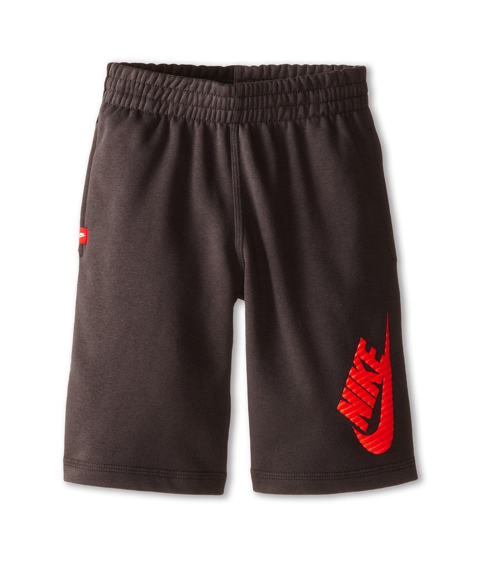 Nike Kids - N45 HBR FT Short (Little Kids/Big Kids) (Anthracite/Black/Black) Boy's Shorts
