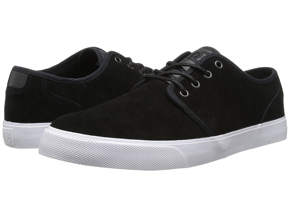 DC - Studio SD (Black/Black/White Multi Snake) Men's Skate Shoes