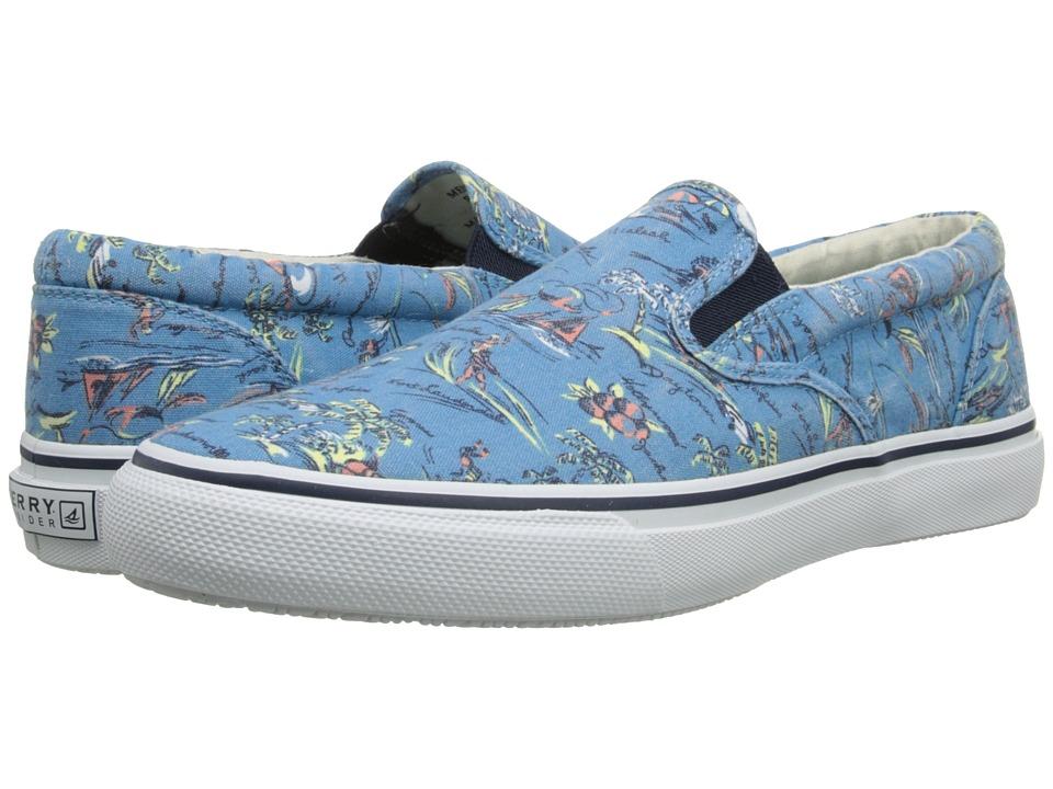 Sperry Top-Sider - Striper S/O Hawaiian Slip On (Blue) Men