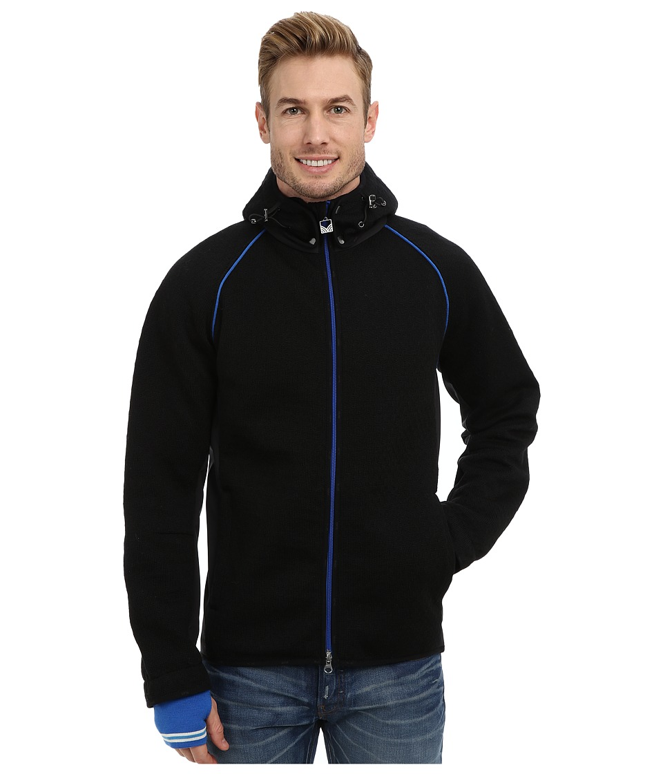 Dale of Norway - Norefjell Masculine Jacket (Black/Cobalt/Off White) Men's Jacket