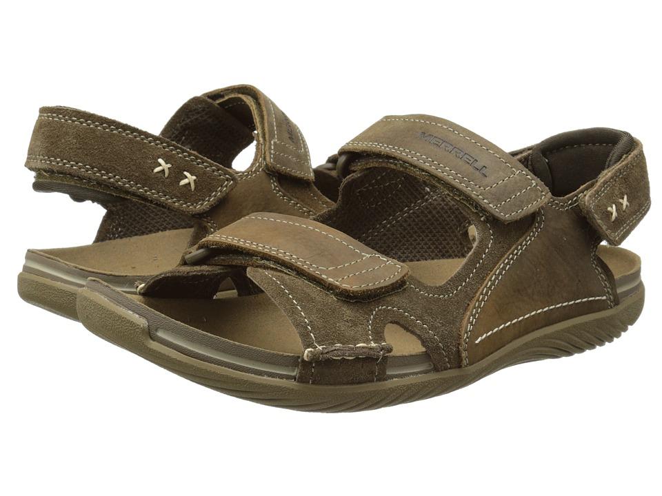 Merrell - Bask Duo (Moss) Men's Sandals