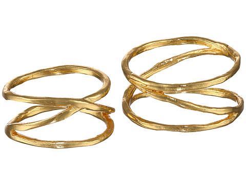gorjana - Isla Ring Midi Set (Gold) Ring