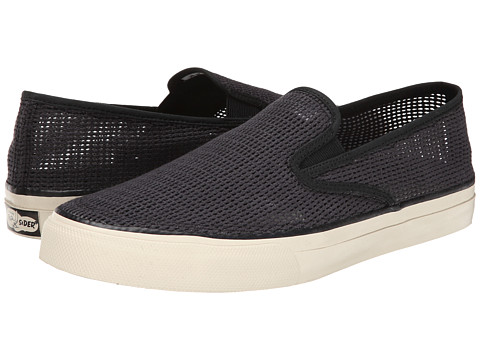 Sperry Top-Sider - Cloud S/O Knit (Black) Men's Slip on Shoes