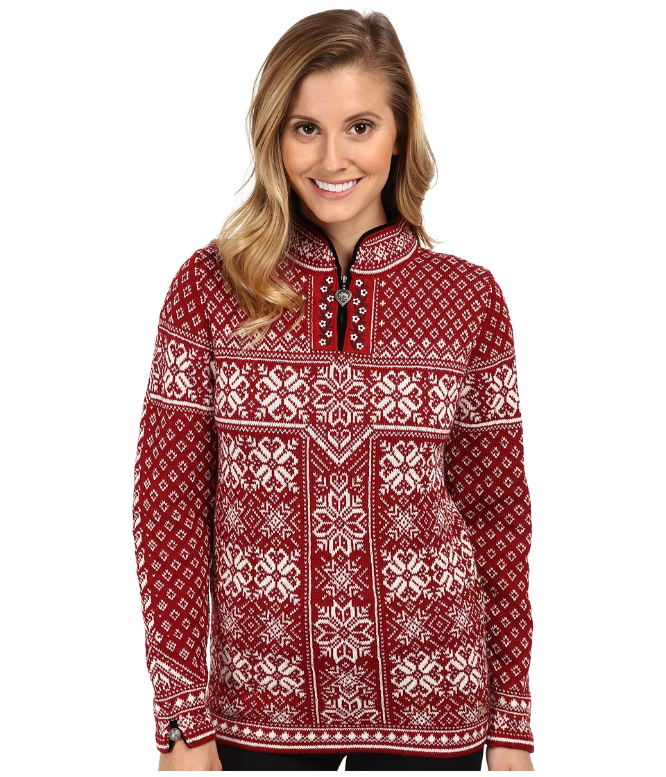 Dale of Norway - Peace (Red Rose/Off White 2) Women's Sweater