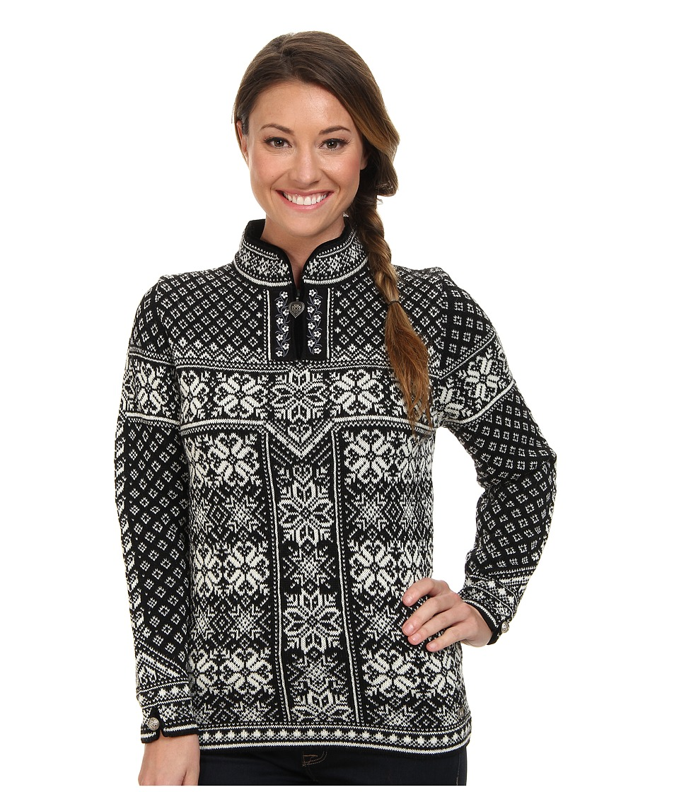 Dale of Norway - Peace (Black/Off White 2) Women's Sweater
