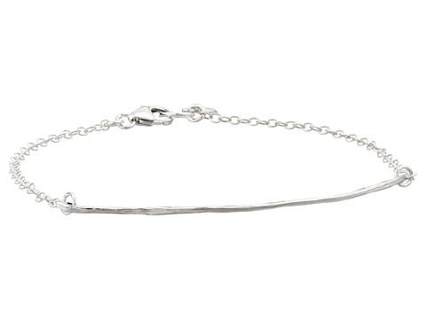 gorjana - Taner Charm Bracelet (Silver) Bracelet