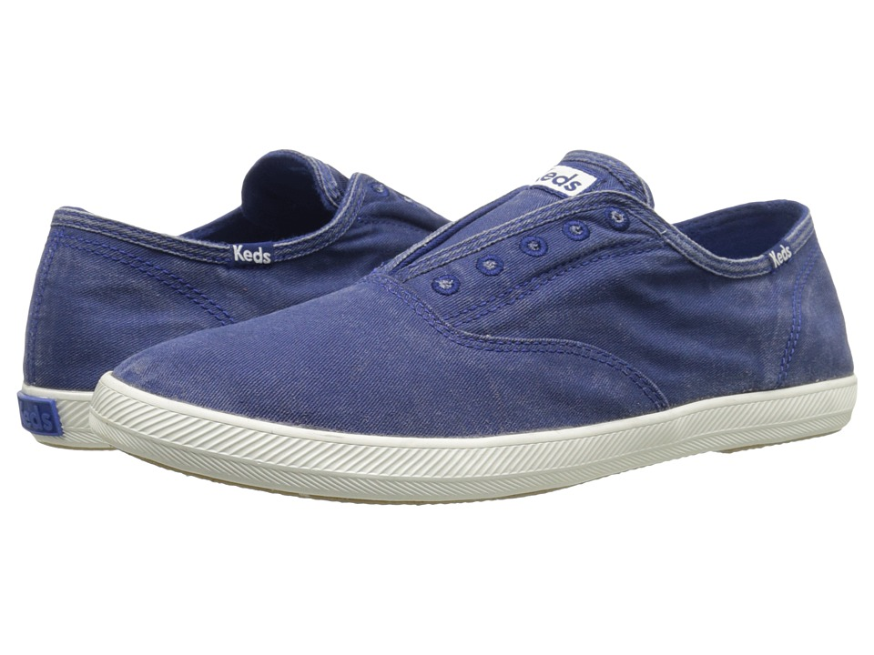 Keds Champion Chillax Washed Twill (Blue Depths) Men