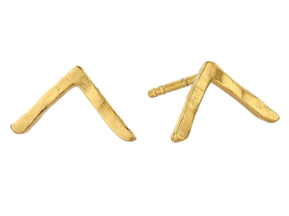 gorjana - Vista Studs (Gold) Earring
