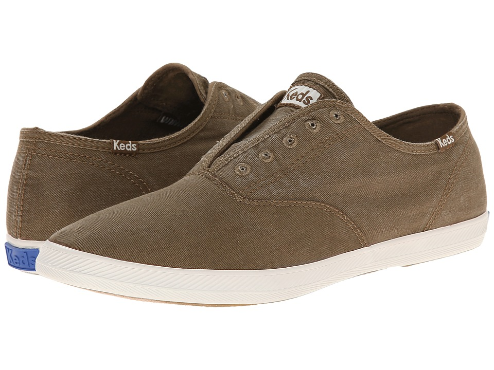 Keds Champion Chillax Washed Twill (Brown) Men