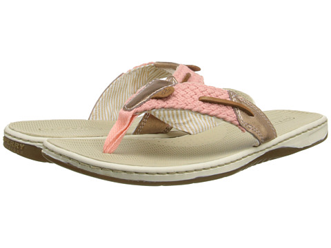 Sperry Top-Sider - Parrotfish Metallic Kid Suede (Light Pink/Rose Gold) Women