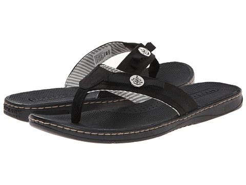 Sperry Top-Sider - Serenafish Grosgrain Bow (Black) Women's Sandals