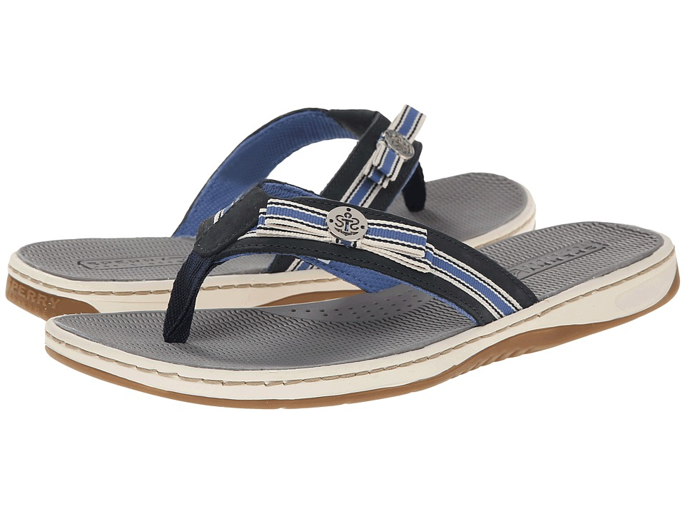 Sperry Top-Sider - Serenafish Grosgrain Bow (Navy/Coral) Women's Sandals