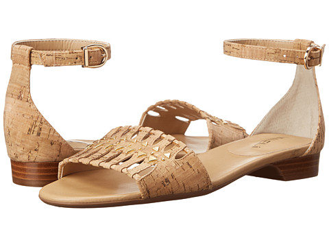 Vaneli - Barrett (Natural Cork/Gold Hardware) Women's Shoes