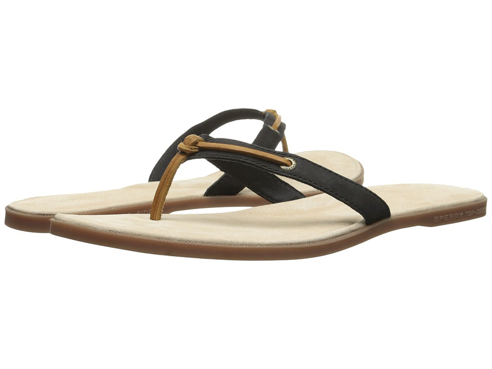 Sperry Top-Sider - Calla (Black 2) Women's Toe Open Shoes